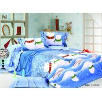 Wholesale Designer Full Queen Size Printed 100 % Snowman Bedding Sets for Girls and Boys from china suppliers