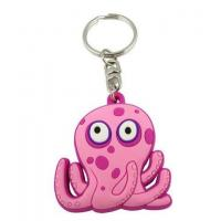 Quality Custom Rubber Keychains for Gifts for sale
