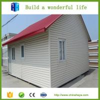 China 2 Bedrooms prefab house plan 56 square meters bungalow house design on sale