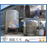China SUS304 Double Layer Tank / Stainless Steel Tanks For Juice Storage And Insulation on sale