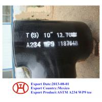 Wholesale ASTM A234 WP9 tee from china suppliers