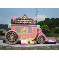Wholesale Princess Carriage Inflatable Bouncy Castles With Lead Free PVC Tarpaulin Material from china suppliers