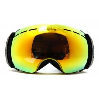 Wholesale Popular Yellow TPU Frameless Ski Goggles Ski Goggles That Fit Over Glasses from china suppliers