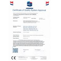 Hebei Yuanheng Stainless Products Co.,Ltd Certifications