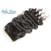 Wholesale Professional Malasian Loose Wave Natural Hair Closure Hair Extension Closures from china suppliers