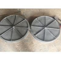 Wholesale Stainless Steel Mesh / Wire Mesh Demister Light Weight Easy Maintenance from china suppliers