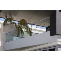 Wholesale Modern Home Balcony Glass Railing Design Stainless Steel Mini Post from china suppliers