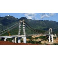 Wholesale Professional Steel Truss Bridge / Cable Stayed Bridges for Longest Spans River from china suppliers