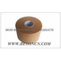 Wholesale Premium Tan Colored Rayon Cloth Sports Strapping Tape With Porous Zinc Oxide Adhesive from china suppliers
