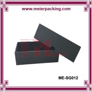Quality Black lip and bottom paper packaging box, custom handmade sunglass paper box ME-SG012 for sale