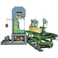 China Log Cutting Vertical Band Sawmill With foundation Timber sawmill Machine For Sale for sale