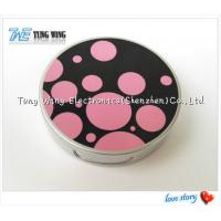 Wholesale Promotional Pocket Makeup Mirror Cosmetic Compact Mirror With Music from china suppliers