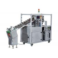 Automatic Paper Strapping Machine , Corrugated Boxes Strapping And Banding Equipment for sale