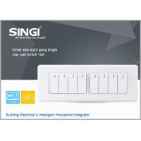 Wholesale GNW58C eight gang  single way  RF Lamp Switching/ wall mount usb power charge wall switches from china suppliers