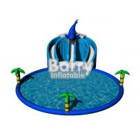 Wholesale Summer Inflatable Water Game Toys Dolphin Inflatable Amusement Park For Kids / Adult from china suppliers