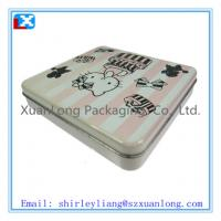 Wholesale rectangular shape chocolate tin box from china suppliers