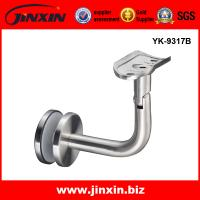 Wholesale JINXIN stainless steel glass fixing bracket for stair handrail from china suppliers