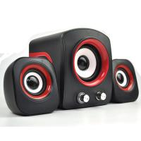 Wholesale Stronger and Powerful 2.1 computer system speaker 2.1 USB aduio Speakers with Elastic Diaphragm from china suppliers