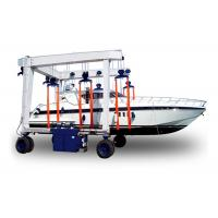 China 320T Electric Mobile Harbour Crane Boat / Yacht Lifting Use With Compact Structure on sale