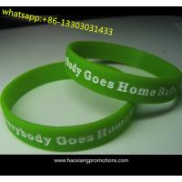 Hot Sale! No Minimum Customized(shape/sizes/color) RFID Silicone Wristbands for sale