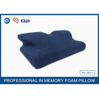 Wholesale Newest Moulded Visco Elastic Memory Foam Curved Cooling Gel Pillow Preventing Numb Arm from china suppliers