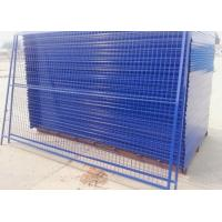 Wholesale Outdoor Temporary Security Galvanized Steel Fence Panels Round / Square Post from china suppliers
