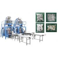 Wholesale Small Hardware / Pipe Fittings Multihead Weigher Packing Machine With Mild / Stainless Steel Body from china suppliers