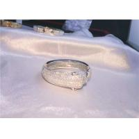 Wholesale Cartierjewelry 18k white gold Panthere de Cartier bracelet 706 diamonds from china suppliers
