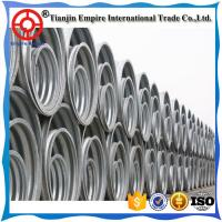 Wholesale Made in China big diameter 304/316 stainless steel corrugated drainage Metal conduit pipes for bridge to deliver water from china suppliers