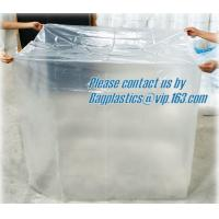 Wholesale Pallet Top Cover Sheet, LDPE bag Large square bottom bag on roll pallet cover bag, HDPE Pallet Cover Sheet from china suppliers