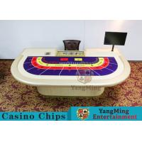 Wholesale Entertainment Casino Poker Table For 9 Players 2600*1470*800mm from china suppliers