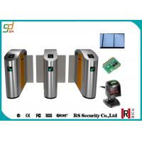Wholesale 304 / 316 Stainless Steel Speed Gates RFID Counter Sliding Turnstile from china suppliers
