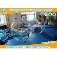 China 2m Dia Inflatable Hamster Water Balls , Zorbing Bubble Runner Giant Walking Ball on sale