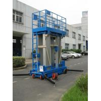 Wholesale Stable Performance Aerial Lift Platform , 6 Meter Four Mast Hydraulic Cargo Lift from china suppliers