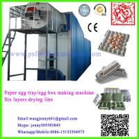 Wholesale semi-automatic paper egg tray making machine-Longkou Fuchang-Whatsapp0086-15153504975 from china suppliers