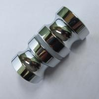 Quality High level in mirror double pull shower door knob back-to-back Euro style knobs for sale