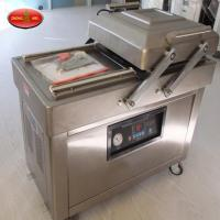 China Industrial Vacuum Packaging Machine DZ600/2C Double Chamber Vacuum Packer For Food for sale