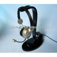 Wholesale Display rack for the earphone, acrylic earphone holder, bluetooth earphone display rack from china suppliers
