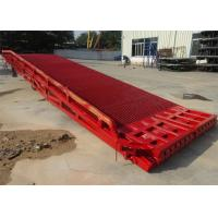 Wholesale 11050 Mm Total Length Mobile Yard Ramp Single Safety Fence Design For Container from china suppliers