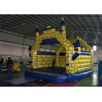 Wholesale Outdoor Plato PVC Tarpaulin Mini Inflatable Bouncer Castles For Baby Games from china suppliers