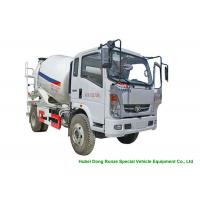 China HOMAN 4x2 Mobile Concrete Mixer Truck For Transport With 4m3 Load Capacity for sale
