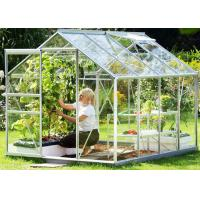 Wholesale Small Hobby Flower Garden Greenhouse With Casement Door Simple Firm from china suppliers