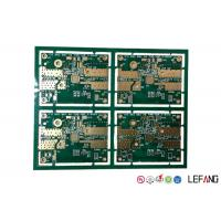 Wholesale Immersion Gold  FR4 PCB Board Four Layers Green Solder Mask For Automotive Components from china suppliers