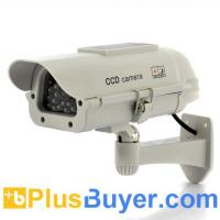 China Ultra Realistic Dummy Camera with Red Blinking LED - Solar Powered on sale