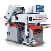 Wholesale Professional Double Sided Wood Planer , High Efficient Automatic Wood Planer from china suppliers