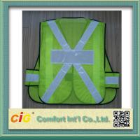 Wholesale EN20471 and CE Standard LED Reflective Safety Vests , Orange Reflective Security Clohting from china suppliers