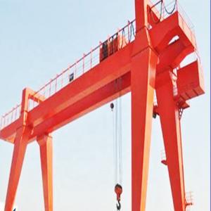 Box Type Girder Gantry Crane , Ship Container Crane To Lift Material / Cargo