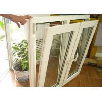 Single or Double Glass Aluminium German Tilt And Turn Windows Powder Coating for sale