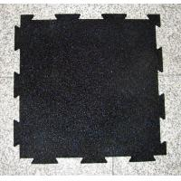 Wholesale New Indoor Interlocking gym rubber mat with dovetail from china suppliers