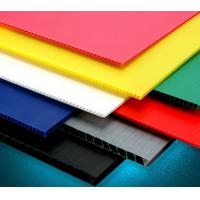 China Recycle Hollow Corrugated Board / Twin Wall 4 x 8 Corrugated Plastic Panels on sale